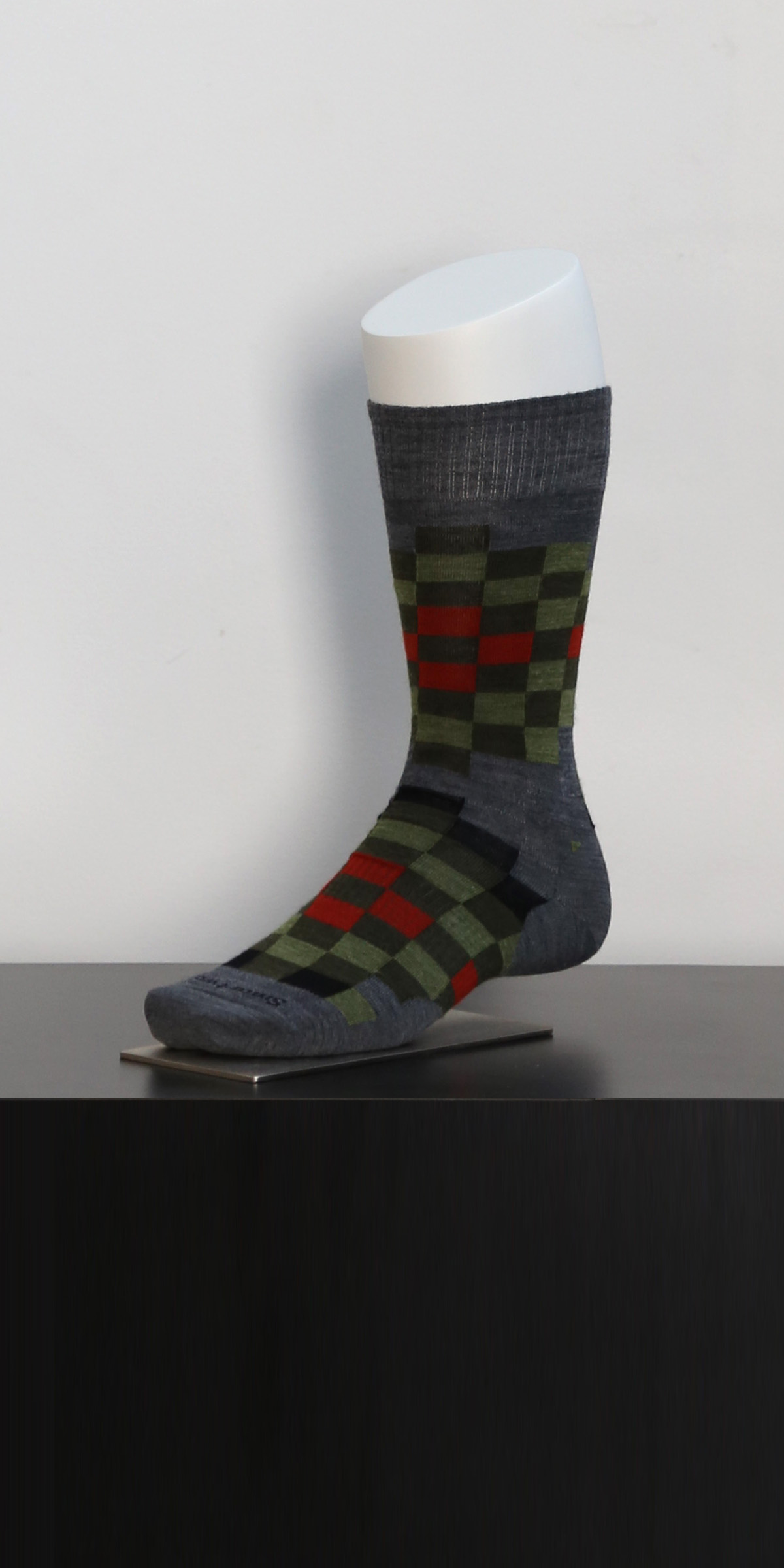 Male Crew Sock Form Dressed